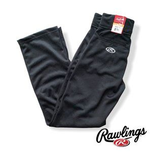 Rawlings Men's PROFLR Baseball Pants Black Small